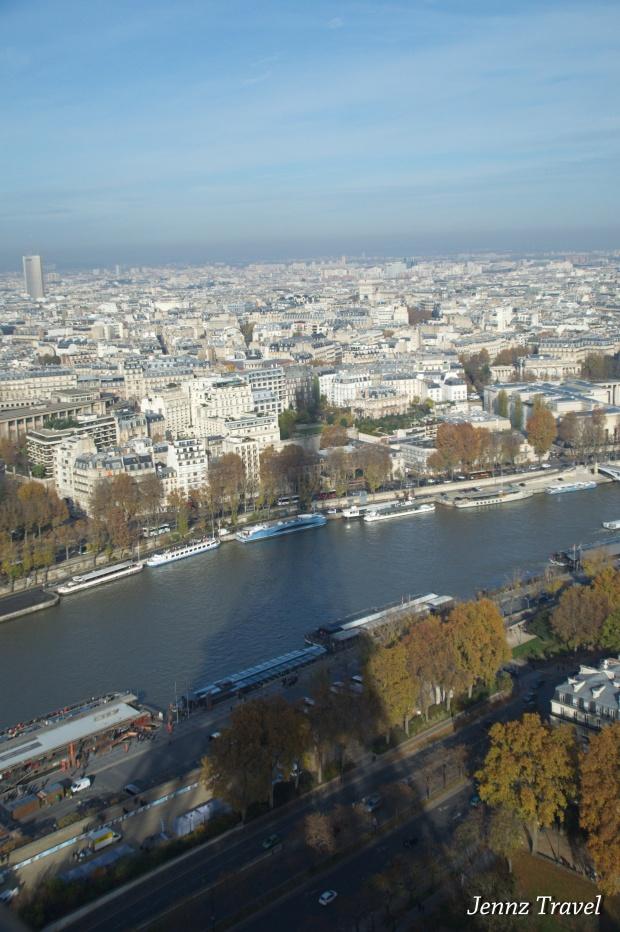 Paris depuis la Tour Eiffel   -   Nikon D5100 - ISO640 - f/4
