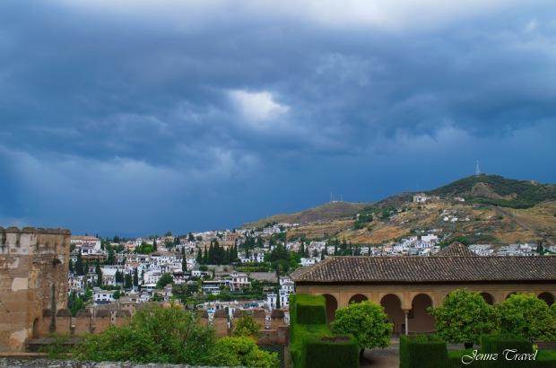 Vue de l'Alhambra Grenade