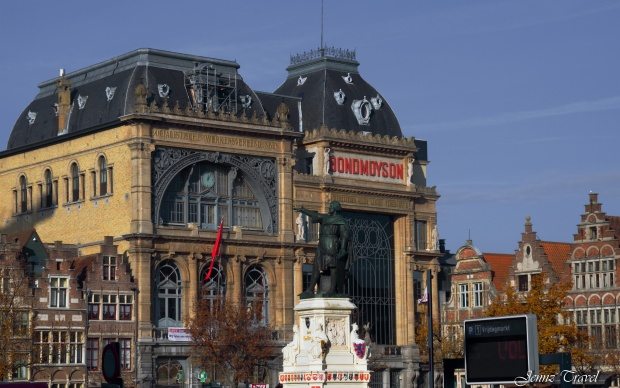 Vrijdagmarkt Gand