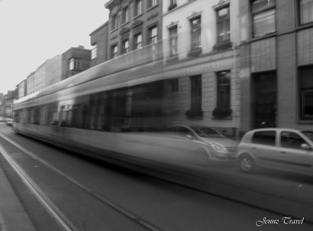 Tram à Gand