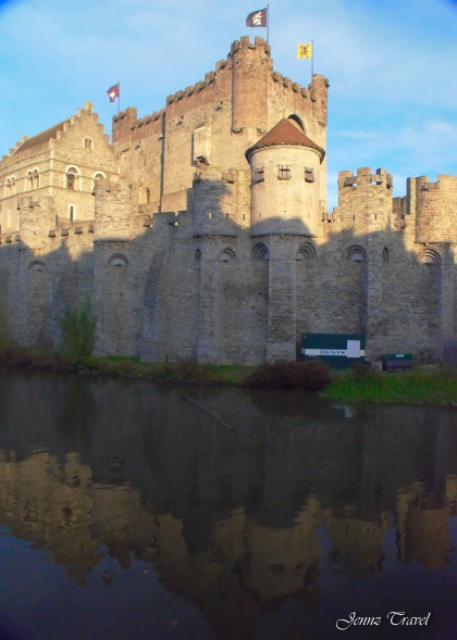 Château des Comtes de Flandres Gand