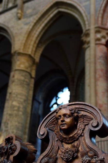 Ange de la Cathédrale Saint-Bavon de Gand