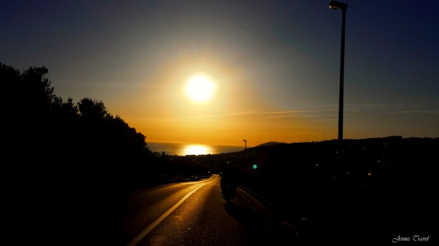 On the Road Hvar Croatie