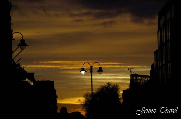 Sun Set London