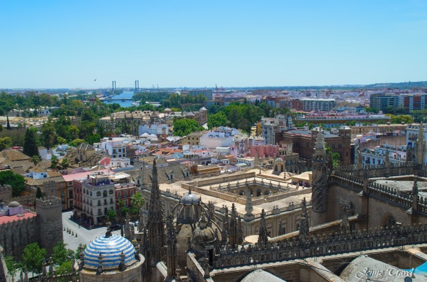 Vue de la Giralda Séville