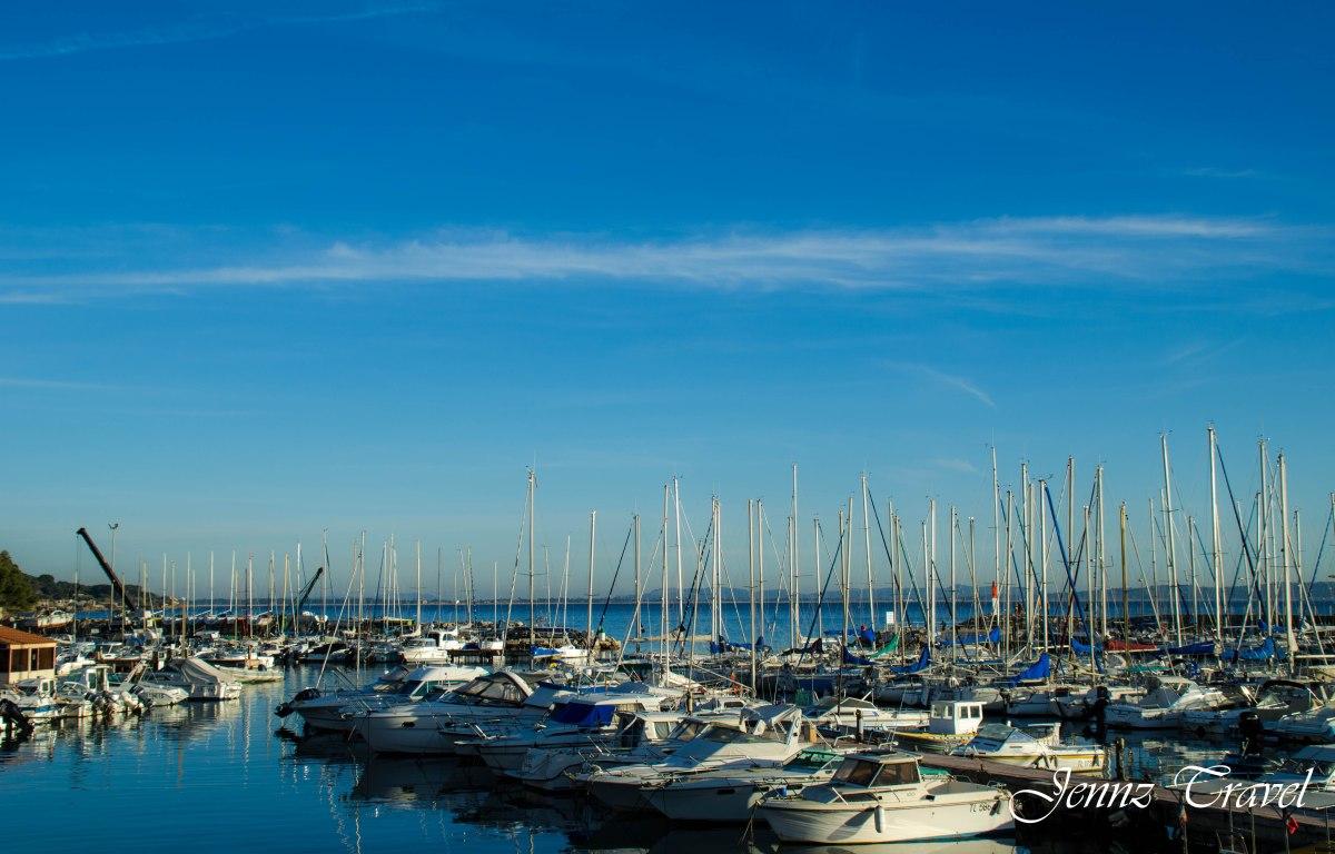 Port de Carqueiranne France Var