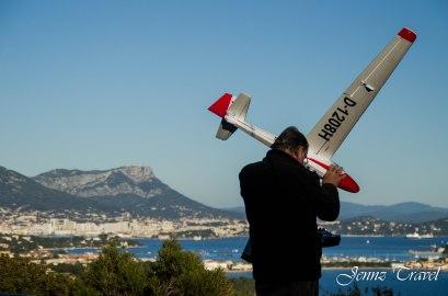 Vue sur le golf de Toulon