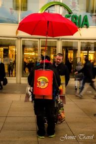 Vendeur hotdog Alexanderplatz