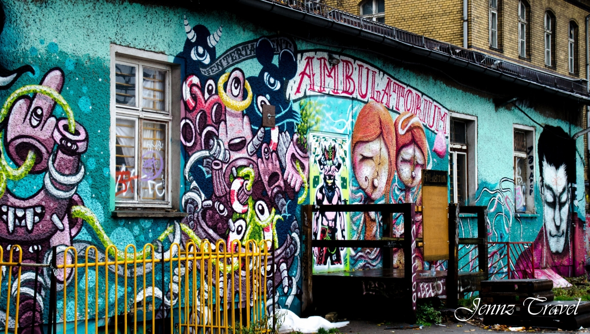 Graffiti Berlin, Raw