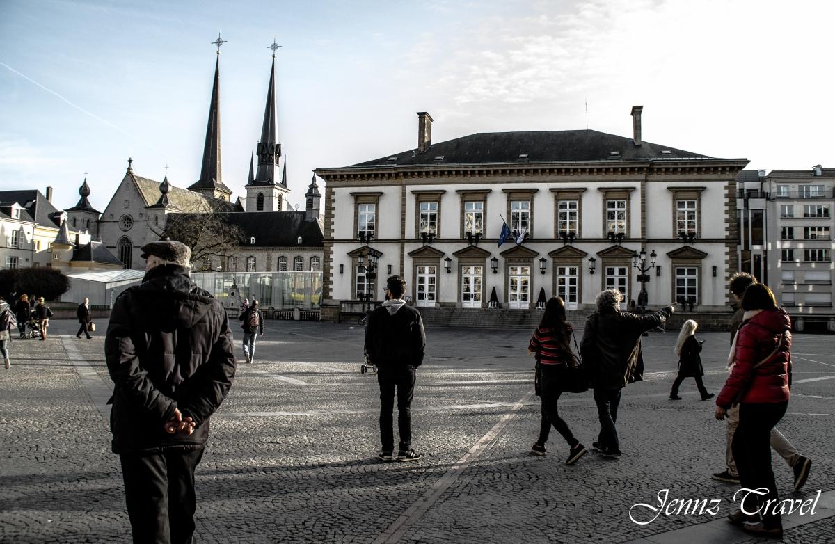 Hôtel de le ville, Luxembourg-Ville