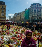 Hommages aux victimes des attentats de Bruxelles