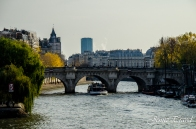 Ile de la Cité, Seine, Paris