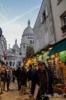 Petites ruelles de Montmartre