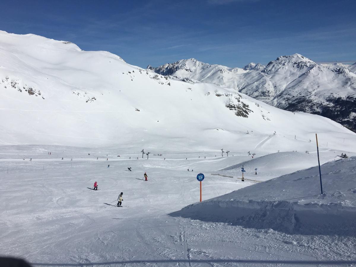 Cours de Ski - Piste bleue