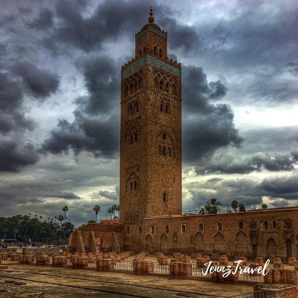 Mosquée de la Koutoubia à Marrakech