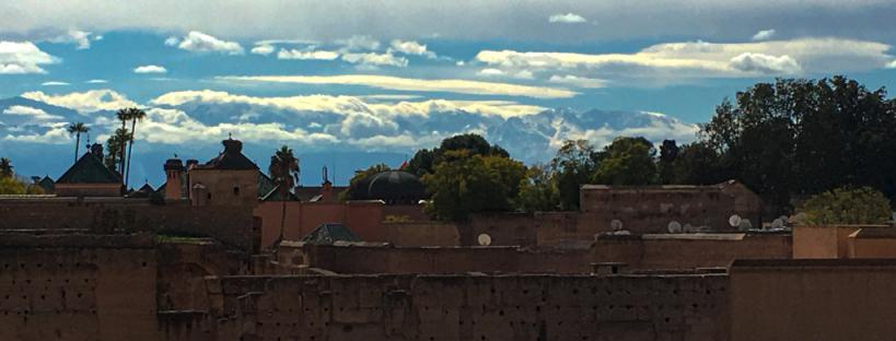 Palais El-Badi à Marrakech