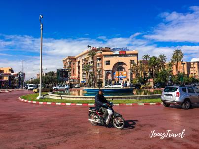 Dans les rues de Marrakech
