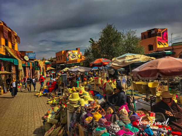 Marrakech, les souks